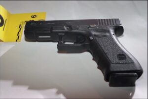 Police recovered the gun used by Bolten at the scene (Phoenix Police Dept.)