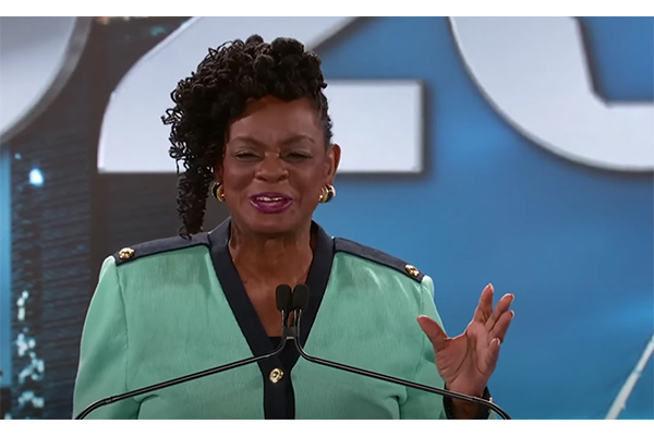 Rep. Gwen Moore traveled to DC to vote for Pelosi on the House floor six days after testing positive for COVID-19