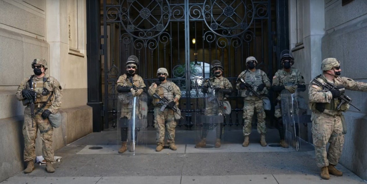 DC Mayor calls out National Guard for ...