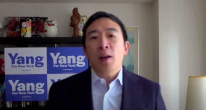 Failed presidential candidate Andrew Yang, now running for NYC mayor says police are to blame for rising crime rates