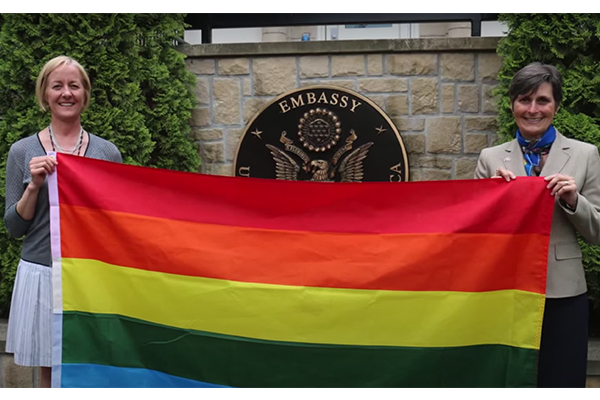 Biden's Secretary of State orders LGBT flags to be flown at U.S. embassies around the world