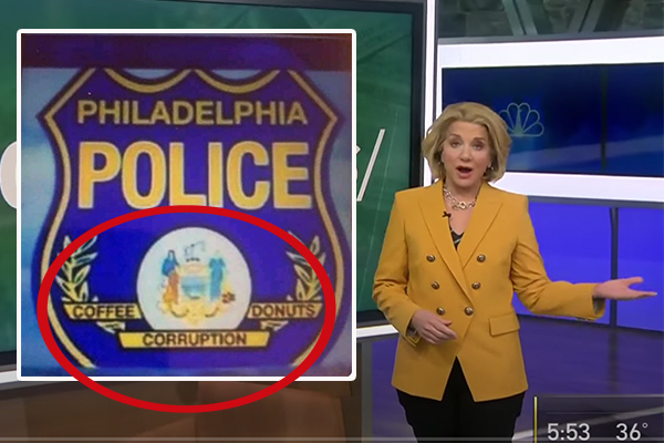 TV station forced to apologize after altering police department's motto to 'coffee, corruption, donuts'