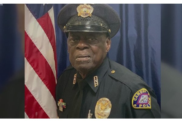 Meet Officer 'Buckshot' Smith. At 91, he's been a cop longer than many people have been alive.