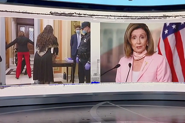 Pelosi of violating her own security measures, dodging fine and putting Capitol Police in 'lose-lose' situation