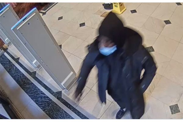 Police searching for man who hid in Macy's bathroom, then sexually assaulted 55-year-old woman