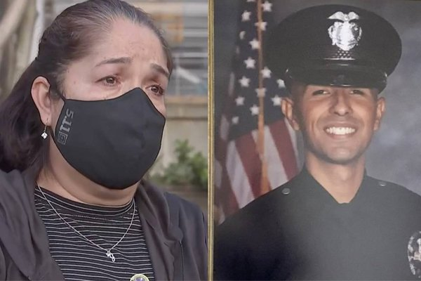 Mother of murdered LAPD officer slams police-bashing DA for protecting criminals while harming victims