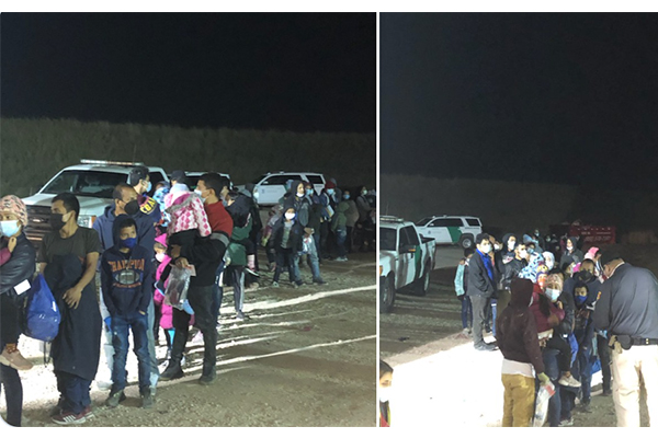 What border crisis? CPB agents arrest more than 200 illegal immigrants in one hour along Texas border