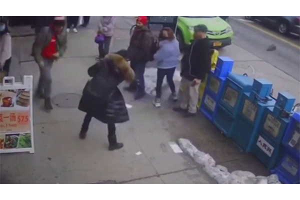 Woman brutally attacked outside bakery in police-defunded NYC receives 10 stitches to her head