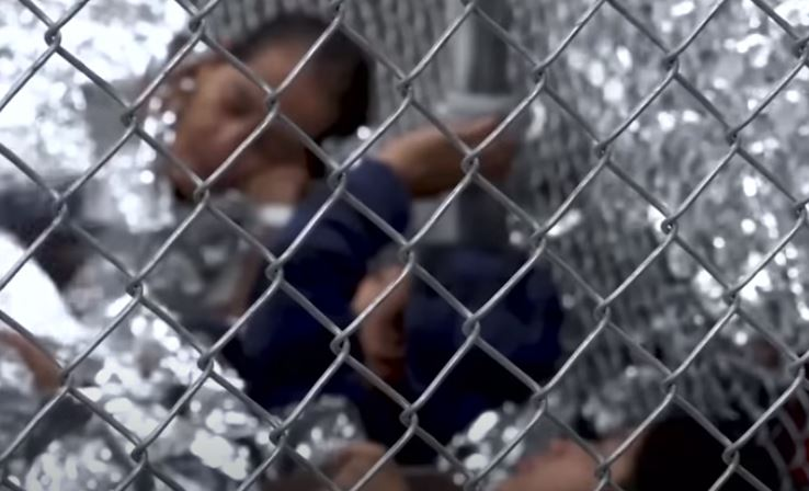 We should ignore kids being placed in cages because there's a new president - and it's called something else?