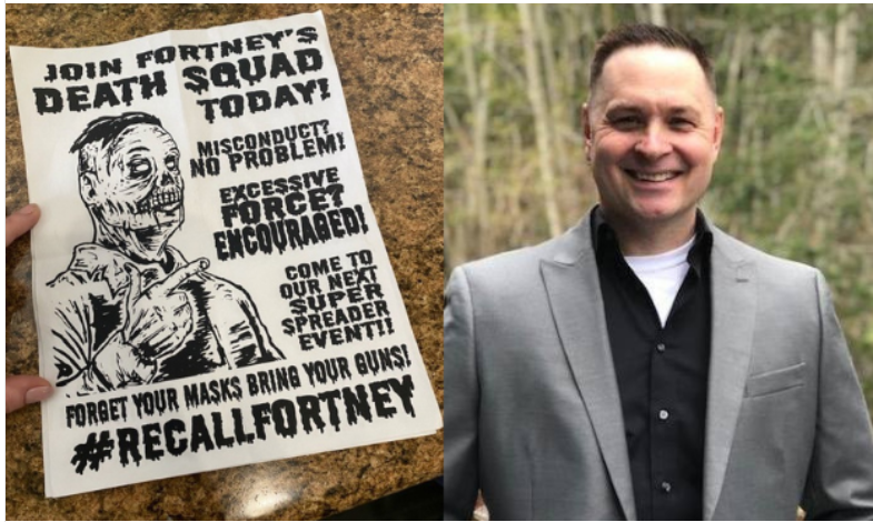 Snohomish County Sheriff subject of smear campaign flyer