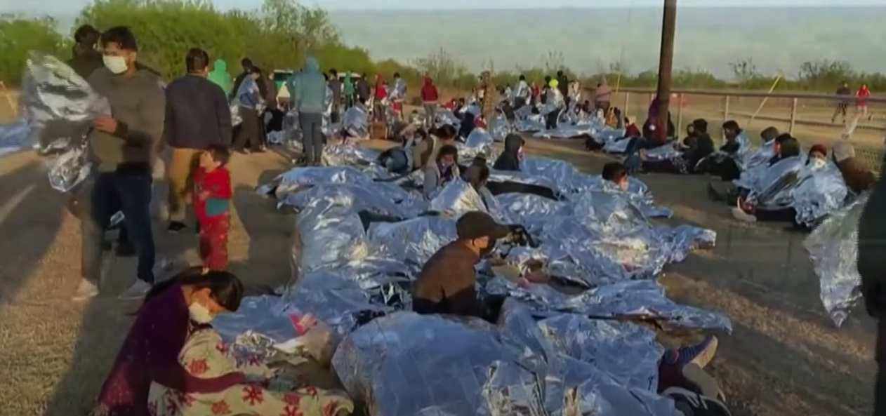 Texas governor blasts Biden administration for 'humanitarian crisis' at border detention facilities for children