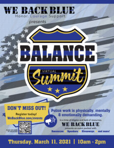 Finding BALANCE with We Back Blue