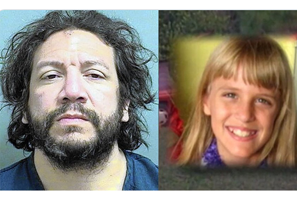 Man accused of torturing and killing an adopted little girl beaten by five inmates as he slept in jail