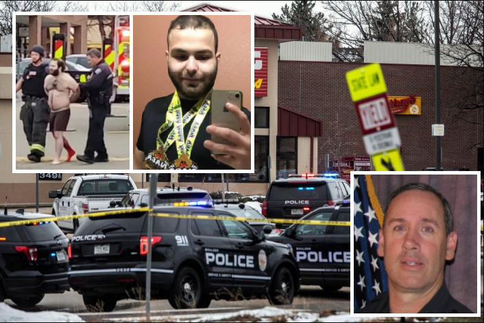 Officer among victims killed in Boulder, suspect identified