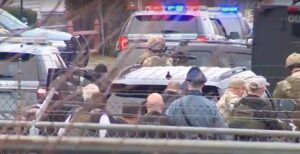 Suspect shot and killed during standoff - Screenshot courtesy of WCBV on YouTube