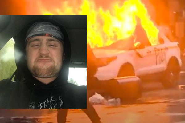 Seattle rioter gets three years in prison for using Molotov cocktails to torch police cars during 2020 riots