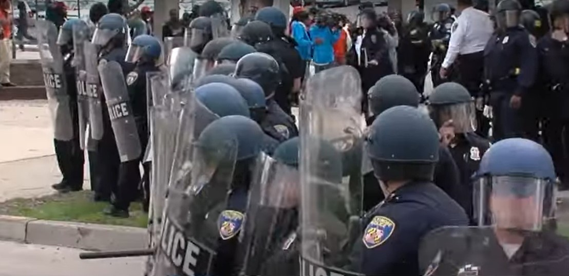 Austin police deal with rioters after the death of George Floyd - Screenshot courtesy of Newsy on YouTube