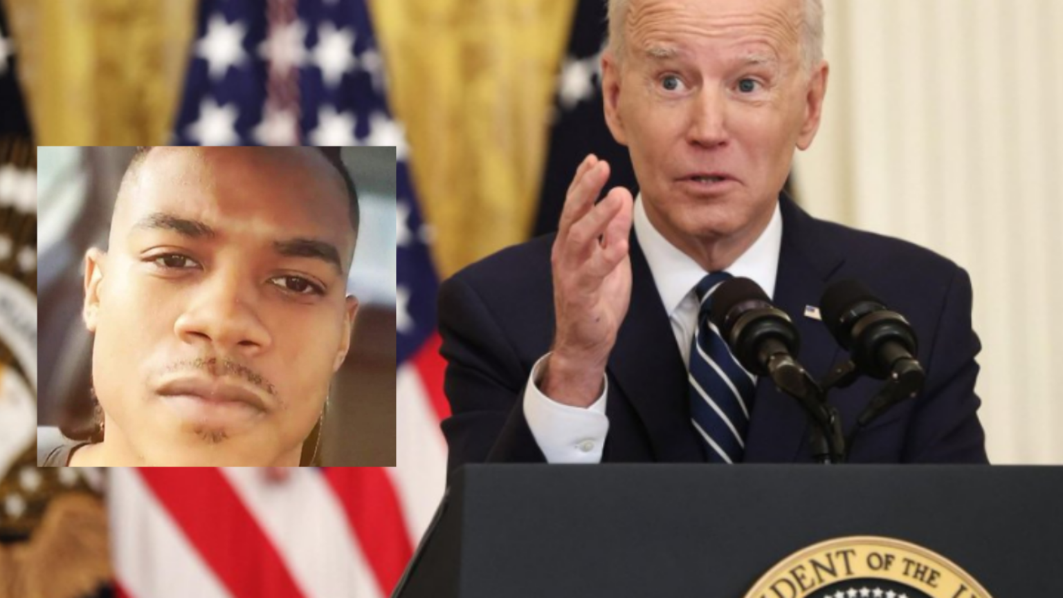 After Capitol attack, Biden's speech fails to condemn the actions of the black nationalist who killed a cop