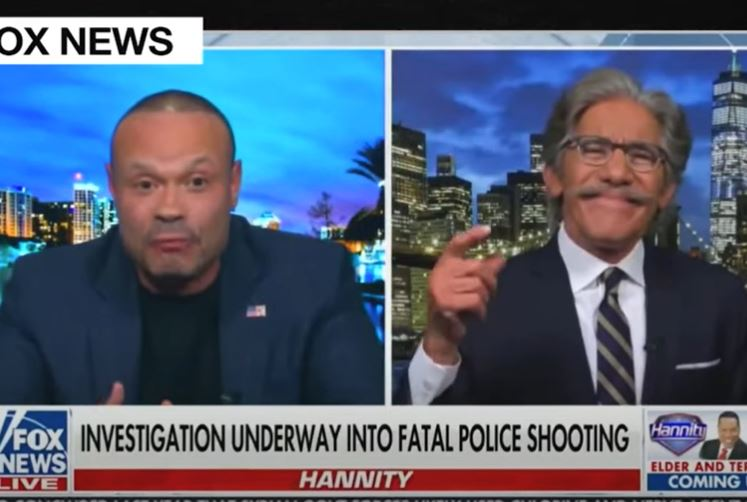 """Geraldo Rivera loses his mind as Dan Bongino defends police: """"You son of a b-! You're nothing but a punk!"""""""