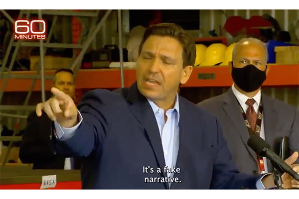 "Busted: CBS News' ""60 Minutes"" caught deceptively editing Gov. DeSantis video to push unfounded conspiracy theory"
