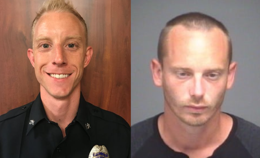 Man who allegedly ambushed Texas officer during traffic stop arrested