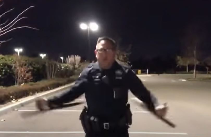 Cop under investigation for video with Mortal Kombat music while using batons