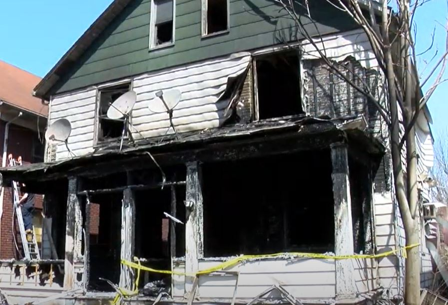 Four girls, aged 12-14, charged in arson that injured fireman and officer