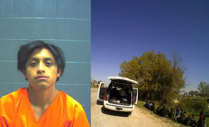 TX deputies arrest human smuggler, ordered to release 20 illegal immigrants