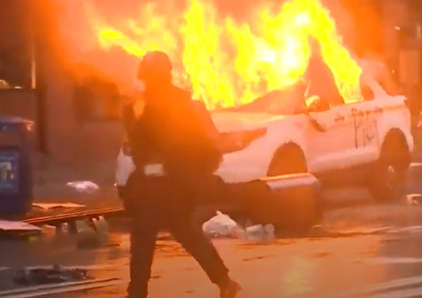 Seattle rioter gets 3 years' prison for arson of police cars during 2020 riots