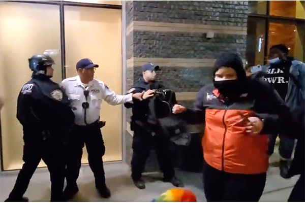 Protests erupt in police-defunded New York City, NYPD captain has his life threatened