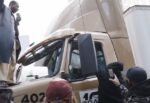 """This is """"justice""""? BLM protesters harass and threaten truck driver after Chauvin verdict"""