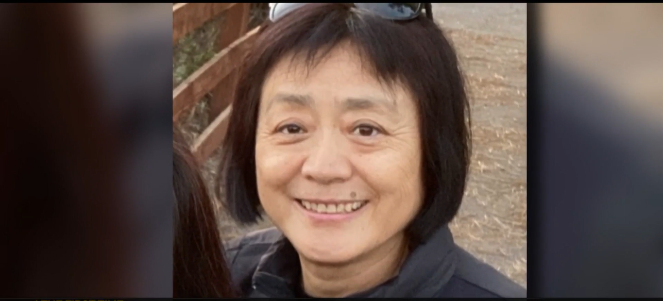 64-year-old Asian woman stabbed to death while walking her dogs