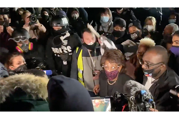 Rep. Waters tells protesters to 'stay on the street', be 'more confrontational' If Chauvin acquitted