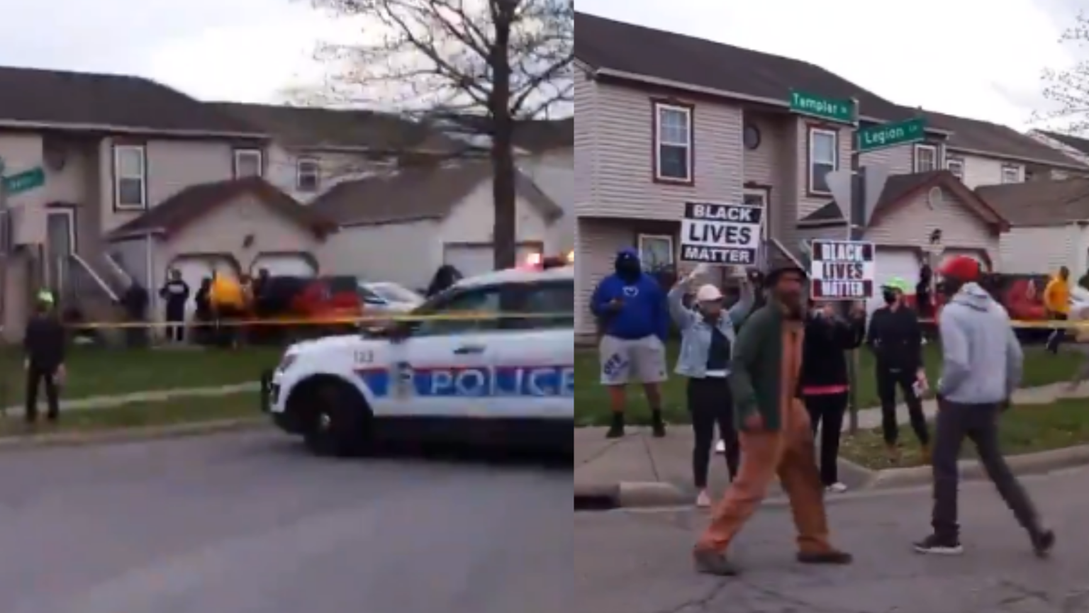 Caught on camera: Black Lives Matter activists threaten police: 'You shoot us, we shoot you'