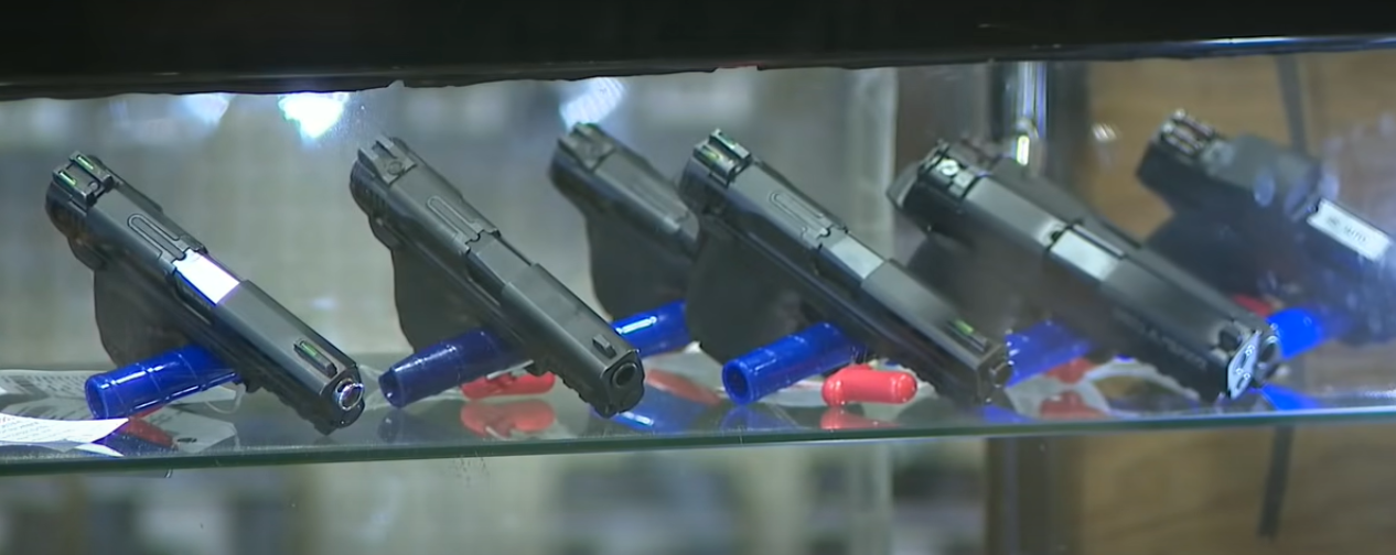 Firearm background checks soar to record high in March according to the FBI