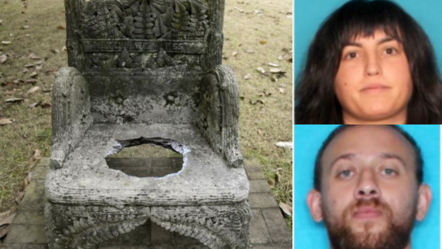 Suspects in 'anti-racist' group arrested for stealing cemetery monument, holding it for ransom in support of cop-killer