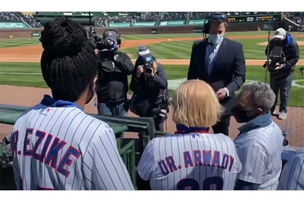 Chicago Mayor Lightfoot booed by Cubs fans on opening day at Wrigley Field