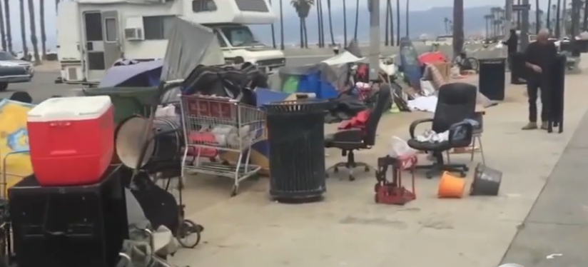 Los Angeles city council member has a plan to combat homelessness - put shelters on local beaches