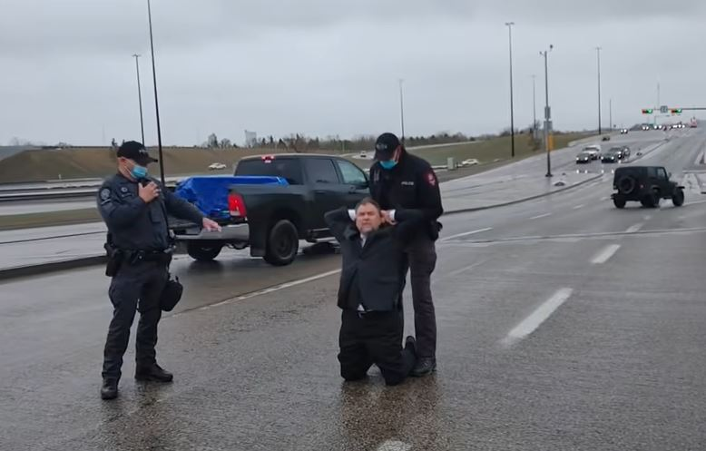 "Canadian pastor arrested for ""organizing an illegal in-person gathering"""