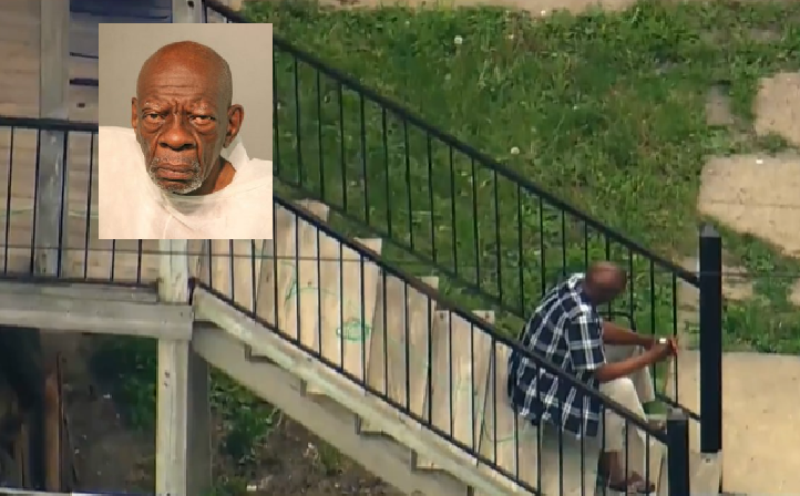 75 y/o man accused of murder for the third time in his life