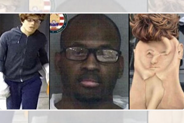Black burglar disguises himself as white using face mask and wig to commit series of crimes in police-defunded LA