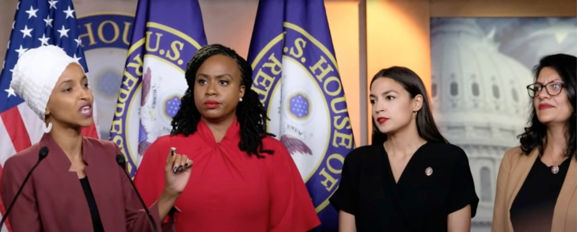 Outrage in DC after Republican congresswoman renames the 'Squad' the 'Jihad Squad' for 'supporting terrorists'