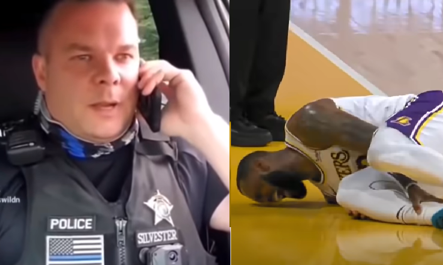 Update: Cop who lampooned LeBron James signs book deal