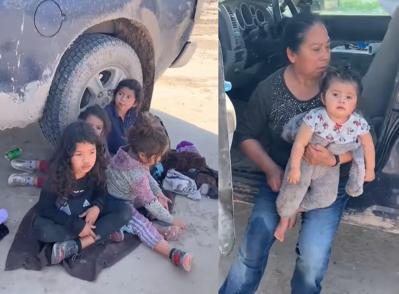 5 migrants, aged 6 and younger, abandoned overnight on Rio Grande bank