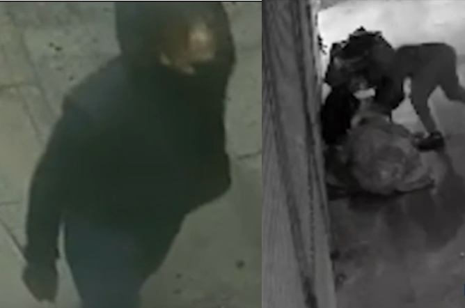 LAPD searching for man who stabbed a homeless woman in her head