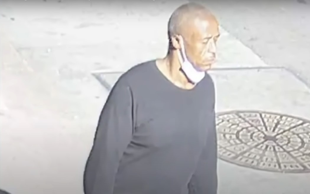 Police identified this man as Patrick Thompson - Screenshot courtesy of CBS News on YouTube