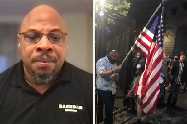 Retired Marine who was attacked with a baseball bat says 'riots and protests have become normalized' in Portland