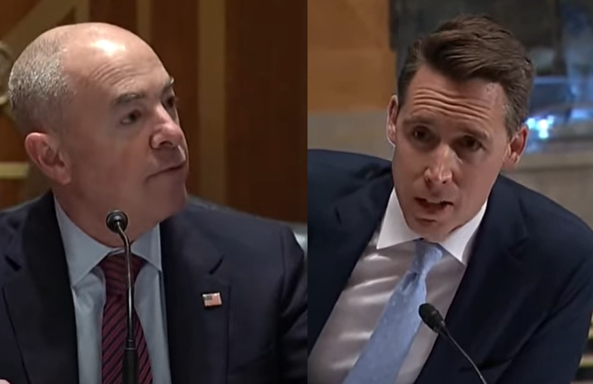 DHS Secretary Mayorkas claims to forget encouraging migrants at border