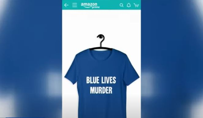"""Days after shutting down pro-police company, Amazon caught selling merchandise that says """"Blue Lives Murder"""""""