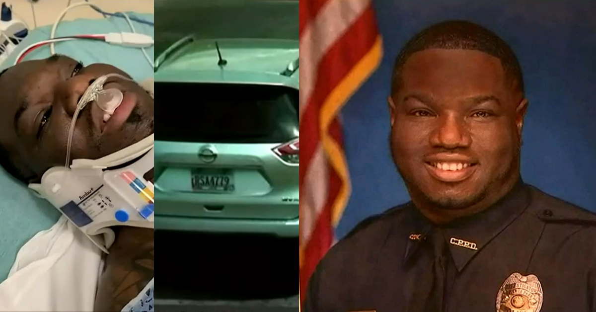 Report: Officer intentionally ran over by teen in stolen SUV consciously made decision not to use deadly force on the driver